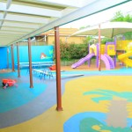Image of Angel's Paradise Early Education Childcare Centre yard, Hinchinbrook Liverpool