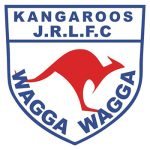 Kangaroos Junior Rugby League Football Club logo