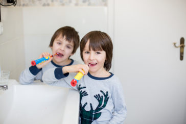 Preschool oral health, dentist