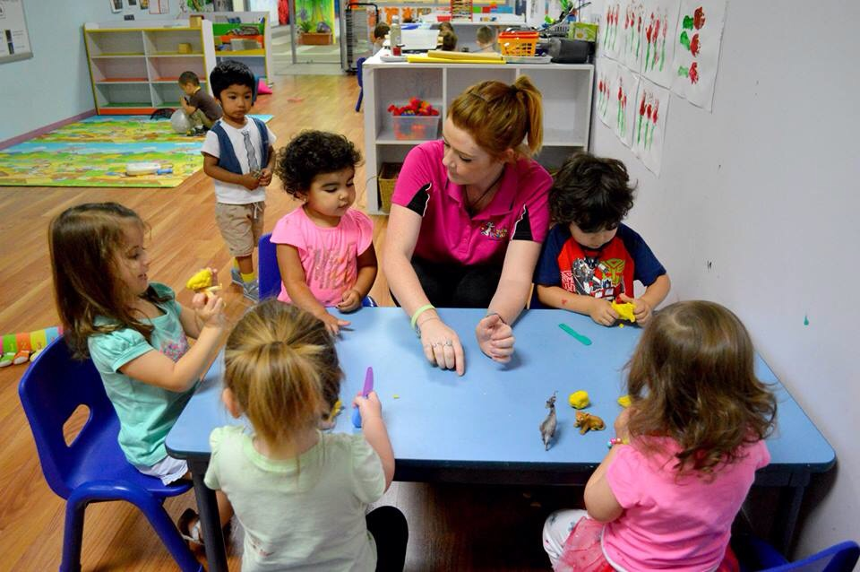 Image of children being educated at Angel's Paradise Childcare Centre, Revesby NSW.